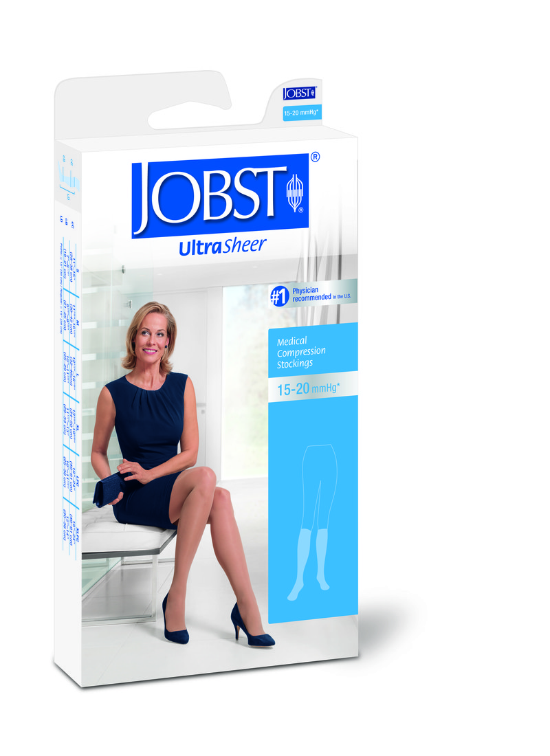 UltraSheer - 15-20 mmHg Open Toe Stockings - Knee High